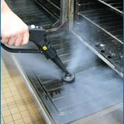 oven steam vapor cleaning