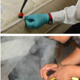 mattress steam vapor cleaning